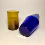 Glasföremål Rejmyre blå vas Retrolux antik
