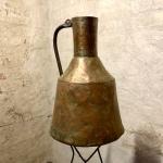 Stort Kopparkärl med handtag 1800-tal Retrolux antik