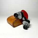 Hercules minikikare med läderfodral Retrolux antik