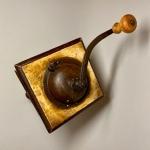 Kaffekvarn med vev Retrolux antik