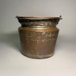 Spann i kopparfärgad zink Retrolux antik