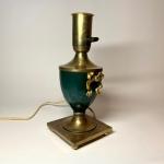Lampfot i mässing Retrolux antik