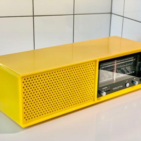 Radio Violetta ITT Schaub Lorenz Retrolux antik