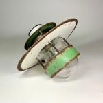 Louis Poulsen orginal 1950-tal glaskupa Retrolux antik